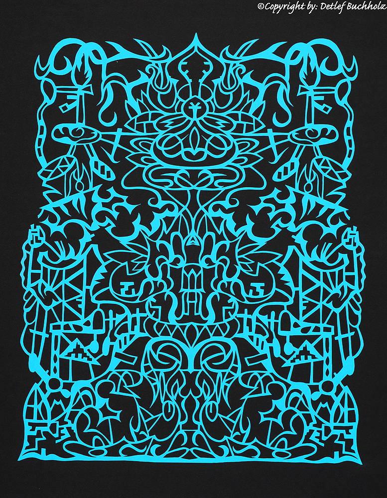 10 Symmetrie in Blau